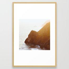 San Francisco Coast Framed Art Print