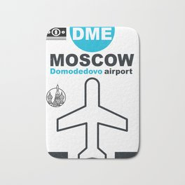 DME  Domodedovo airport code Bath Mat