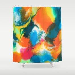 Feeling groovy Shower Curtain