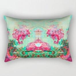Psychedelic garden Rectangular Pillow
