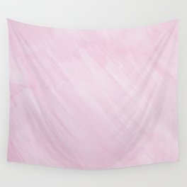 Pink Watercolor Wall Tapestry