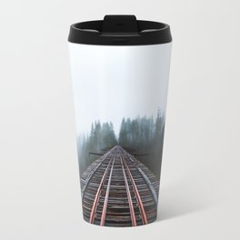 Abandoned Railroad Vance Creek Bridge - Olympic National Park, Washington Travel Mug