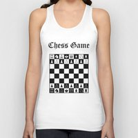 chess Tank Tops featuring Chess Game by Maxvision