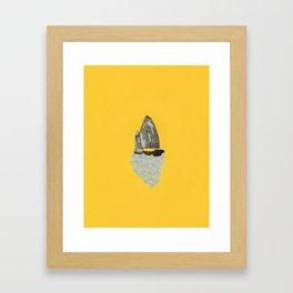 Junk Ship I Framed Art Print