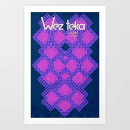 Epachi Hearts - Wezteka Union. Art Print