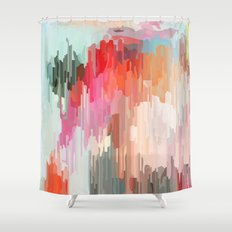 Everything will flow Shower Curtain