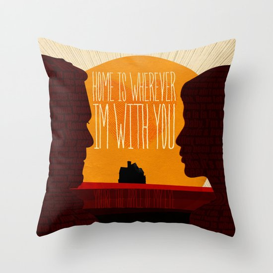 Oh, Home! Throw Pillow
