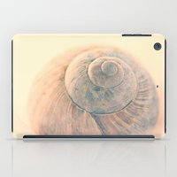 snail iPad Cases featuring Snail  by Tanja Riedel