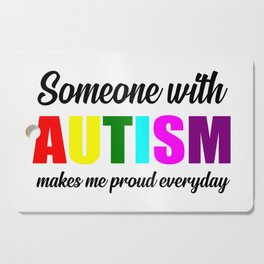 Autism quote Cutting Board