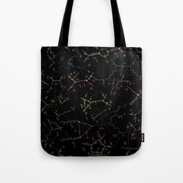 Physics: Feynman Diagrams Tote Bag