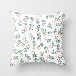 Cactus #1 Throw Pillow