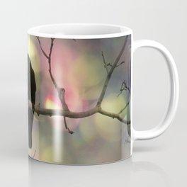 Crow Dreams In Colors Coffee Mug