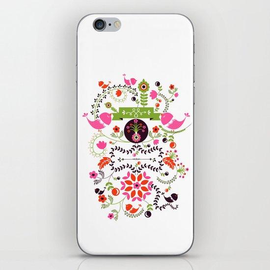 Bird Love iPhone & iPod Skin