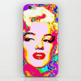 Marilyn - Colour iPhone Skin