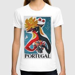 Portugal - Vintage Travel T-shirt