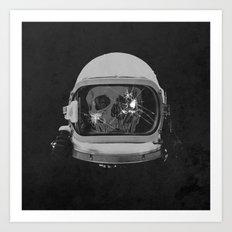astroNOT Art Print