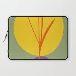 zen garden sun with purple stone Laptop Sleeve
