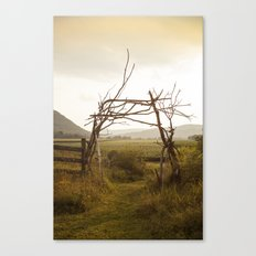 Enter Nature Canvas Print