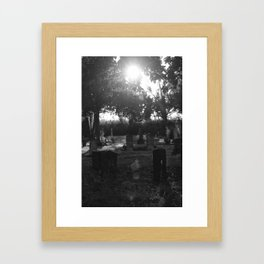 Looper's Cemetery 1 Framed Art Print