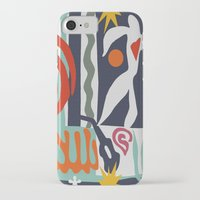 matisse iPhone & iPod Cases featuring Inspired to Matisse by Chicca Besso
