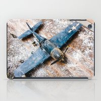 airplane iPad Cases featuring Airplane by Mauricio Santana