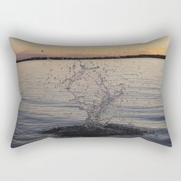 Waco Water Splash Rectangular Pillow