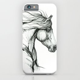 Horse head iPhone Case