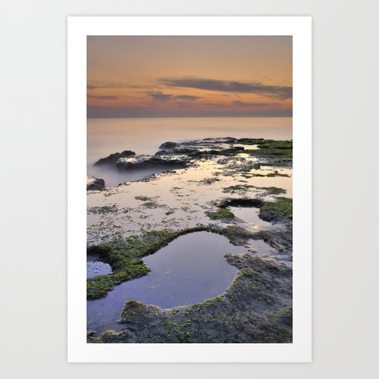Reflections in the paradise Art Print