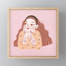 Daydreamer Framed Mini Art Print
