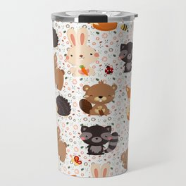 Woodland Nursery Pattern Travel Mug