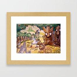 Apple Trees Framed Art Print