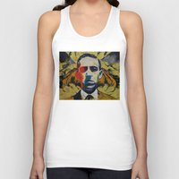 lovecraft Tank Tops featuring Lovecraft by Michael Creese