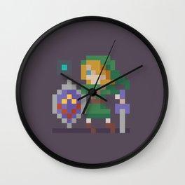 Pixel Link Wall Clock