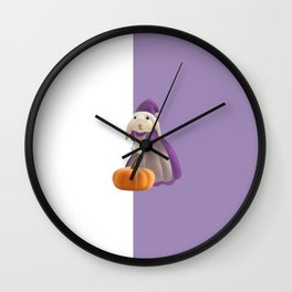 Bunny witch Wall Clock