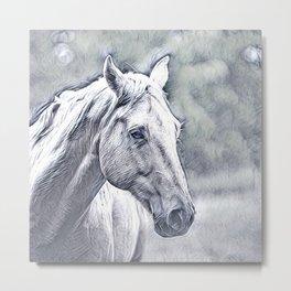 Impressive Animal - Amazing Horse Metal Print