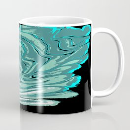 Ripples with Black Background 02 Coffee Mug