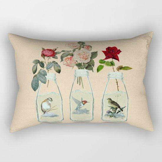 bottled spring Rectangular Pillow