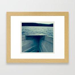 rowboat Framed Art Print