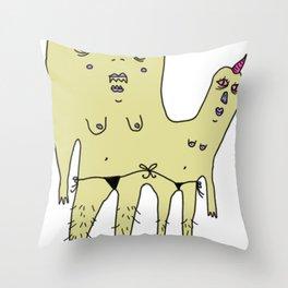 unidos #3 Throw Pillow