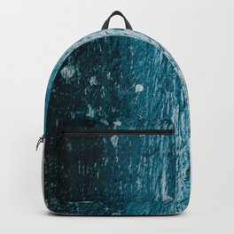 Distressed Wood Backpack