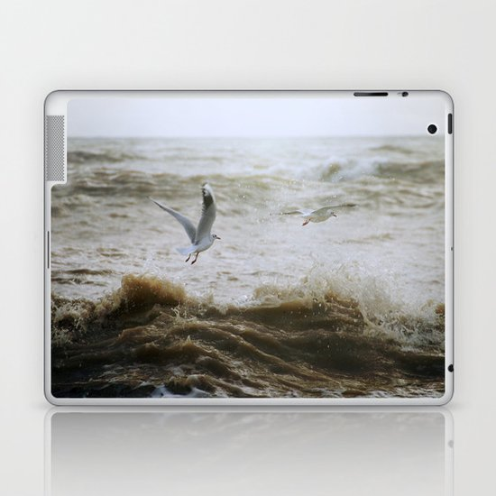 Of wind and waves and flight... Laptop & iPad Skin