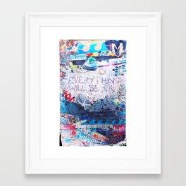 Tybee Island, GA Framed Art Print