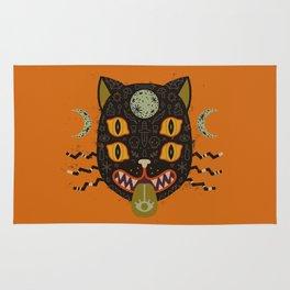 Spooky Cat Rug