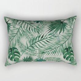 Jungle Leaves pattern Rectangular Pillow