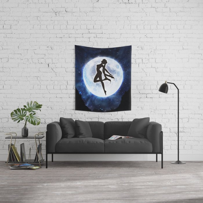 Sailor moon Wall Tapestry