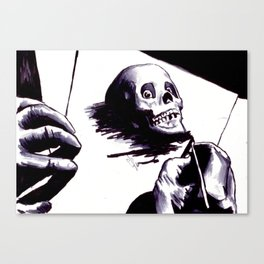 Drawing Day Canvas Print