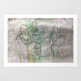 Monday 10th February 2014 (3) Art Print