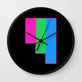 Polysexual Wall Clock