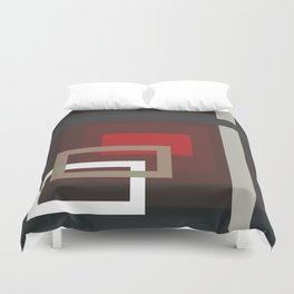 Abstract Composition 660 Duvet Cover