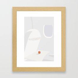GRØNTSAGSSAFT (tomato juice) Framed Art Print